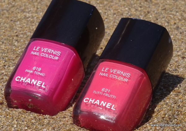 Chanel Les Vernis Tutti Frutti 619 ,Pink Tonic 621