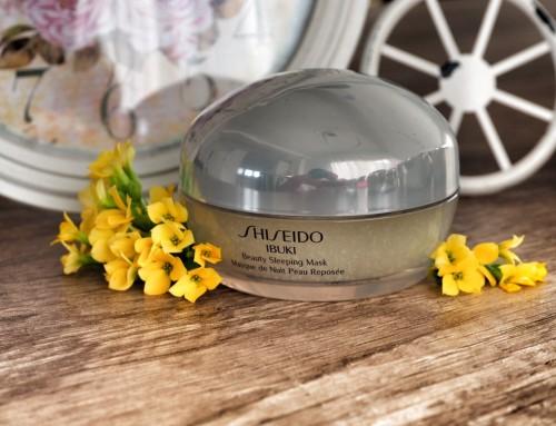 Shiseido Ibuki Beauty Sleeping Mask – jak Anioł czuwający w nocy